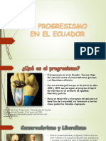 El Progresismo en El Ecuador 1