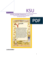 unit illuminated manuscript lesson plan 7