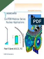 CivilFEM Nuclear