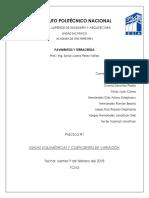 Práctica 1. Masas Volumétricas y Coeficientes de Variación (1)