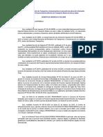 DECRETO DE URGENCIA N° 032‐2009