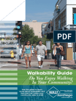 Do You Enjoy Walking in Your Community?