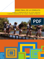 Cdi Conservacion Sitios Sagrados Pueblo Yoreme Sinaloa