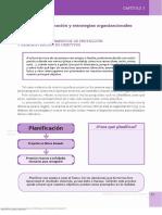 Planificacion y Estrategias Organizacionales