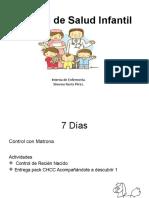 Calendario Control de Salud Infantil 1 1 5