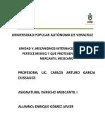Unidad 5 Mecanismos Internacionales