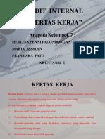 Ppt Audit Internal Bab 9 Kertas Kerja