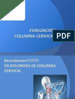Evaluacion de Columna Cervical Kin321