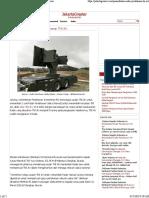 Penambahan Radar Pertahanan TNI AU