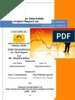 Summer Internship Project Report - Arun Thakur (50) & Arjun Vig (109)