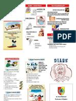 Leaflet Diare Dan Cuci Tangan