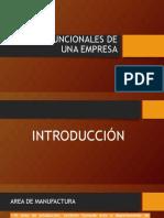 Area Funcionales de Una Empresa