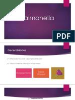 Salmonelosis - pediatria