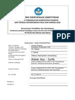 Instrumen Identifikasi - PAUD (Lanjutan) Kober Asy Syifa Nunung Nurjanah