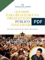 6 Pasos Para Realizar Una Presentación Inolvidable PDF