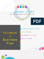 Bismillah PPT Business Plan Trashion Craft
