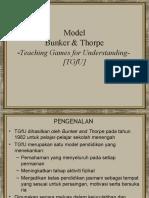 Model Bunker & Thorpe
