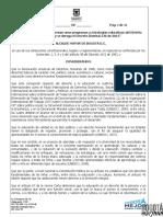 Proyecto Decreto Reglamentan Programas Decreto Distrital 546 2015