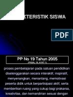 KARAKTERISTIK SISWA