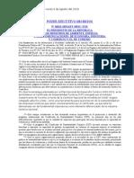 Reglamento para el Otorgamiento del Certificado de sostenibilidad turística