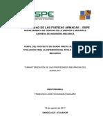 Perfil de Proyecto Velásquez V