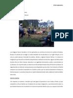 Actividad Cultura, Sociedad y Ambiente