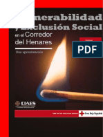 VULNERABILIDAD Y EXCLUSIÓN  SOCIAL EN EL CORREDOR DEL HENARES