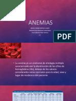 ANEMIAS  Eq 1 8-3