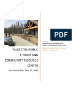 Talkeetna Public Library-Master Plan Report 5/30/2017