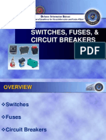 Switches Fuses and Circuit Breakers