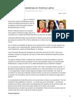 Nodal.am-ya No Quedan Presidentas en América Latina