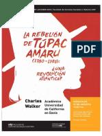 La Rebelión de Tupac Amaru, Una Revolución Atlántica - Charles Walker