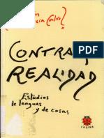 García Calvo, Agustín - Contra La Realidad