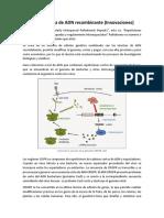 Biotecnología de ADN Recombinante