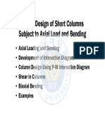 Design of Short Columns