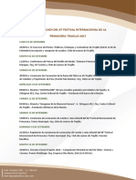 Programa Festival de La Marinera