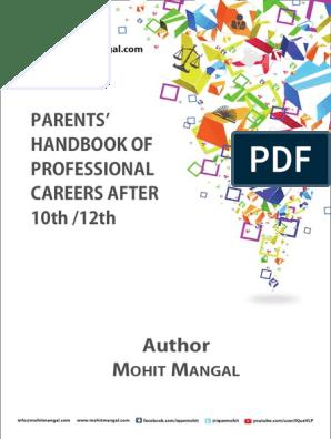 Parents' Handbook of Careers After School | Academic Degree