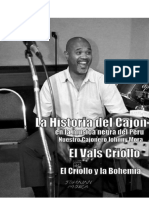 Historia Del Cajón Peruano en La Música Negra Del Perú