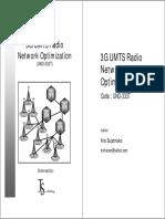 0 Cover UMTSOptimization