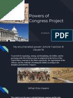 powers of congress project - jie hua yu p
