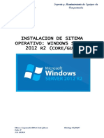 Instalacion Server Core Gui