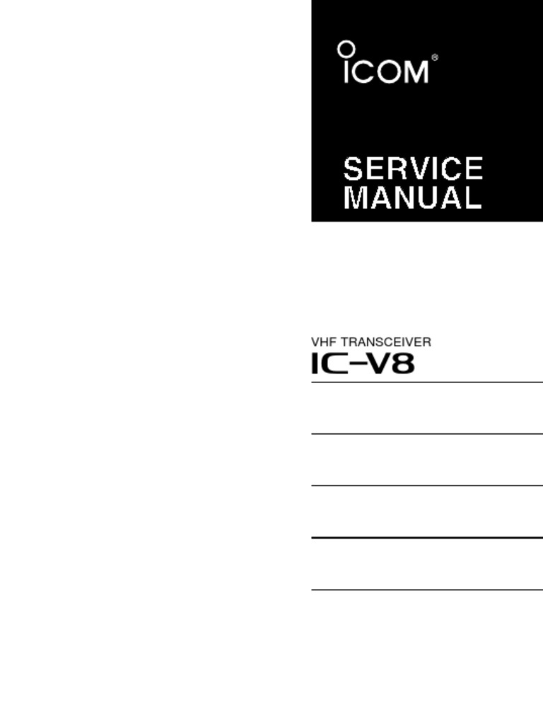 download icom ic r100 service repair manual