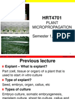 HRT4701 Chapter 5 General in Vitro Technique
