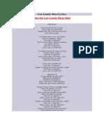 Los Lonely Boys Lyrics