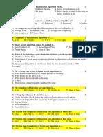 FRQs & MCQs- Sorting