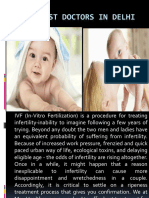 Ivf Best Doctor in Delhi