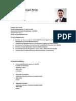 Curriculum Vitae[1]