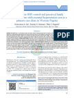Blood Pressure BP Control and Perceived Family Sup (1)