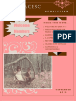 PACESC Newsletter SEPT 2010