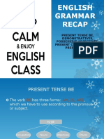 English Grammar Recap
